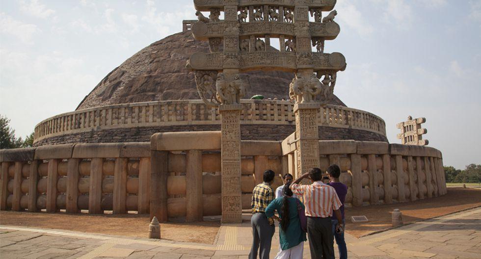 Descubre la Estupa de Sanchi, una joya arquitectónica budista - 5