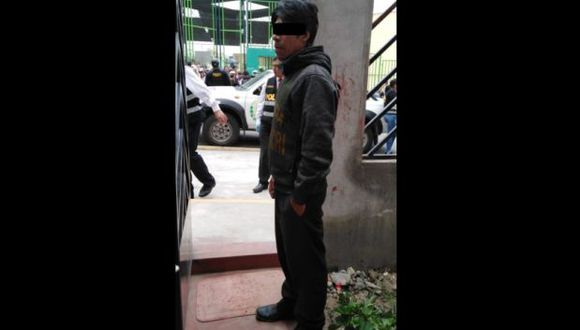 Arequipa: detienen a sujeto acusado de asesinar y enterrar a una anciana