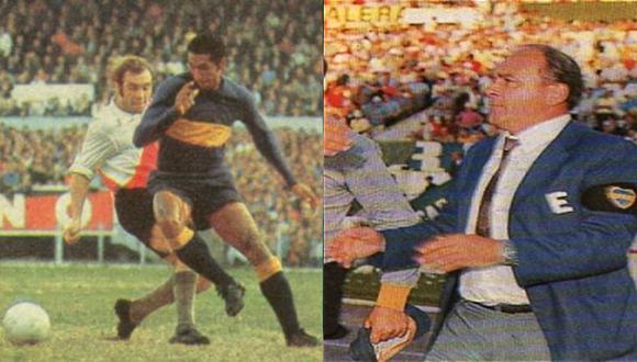 Julio Meléndez 'El peruano y su ballet', jugó en Boca Juniors y fue dirigido por Di Stéfano en 1969.