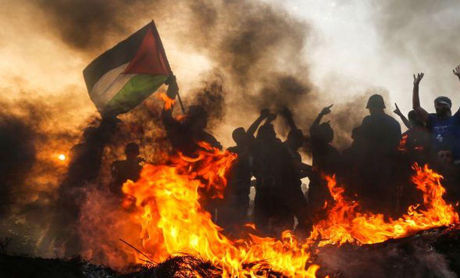 Israel y Hamas libraron tres guerras en la última década. Tensiones aumentaron por protestas semanales organizadas por el grupo en la frontera para aliviar el bloqueo de Israel. (Foto referencial: AFP)