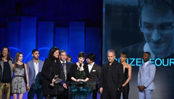 CitizenFour, la historia de Snowden, Oscar a mejor documental