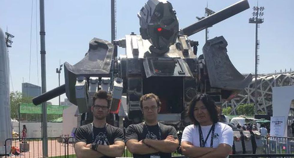Robot chino busca sumarse al combate de MegaBots [VIDEO]
