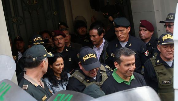 El ex presidente Ollanta Humala y su esposa, la ex primera dama Nadine Heredia, cumplen una orden de prisión preventiva por el Caso Odebrecht. (Foto: EFE)