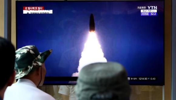 Corea del Norte dice que los lanzamientos de misiles son una advertencia hacia EE.UU. y Corea del Sur. Foto: Getty images, vía BBC Mundo