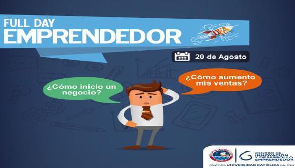 CIDE-PUCP organiza tercera edición de Full Day Emprendedor