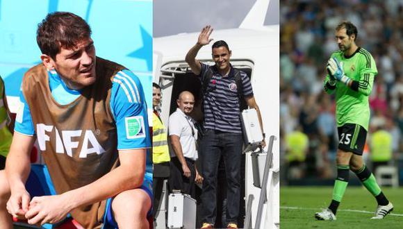 Keylor Navas espera salida de Casillas o López para fichar