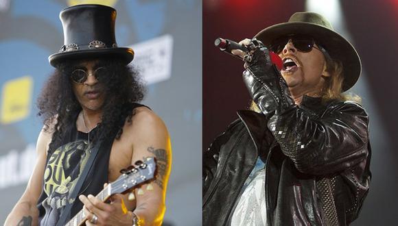 Guns N'Roses: Slash y Axl Rose se amistaron tras años de pelea