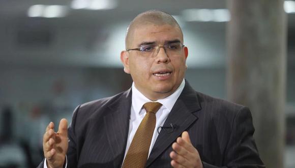 """""""El indulto no es un cheque en blanco, mediante el cual se diga 'todos los que están enfermos salen'"""", consideró el ministro de Justicia y DD.HH., Fernando Castañeda. (Foto: GEC)"""