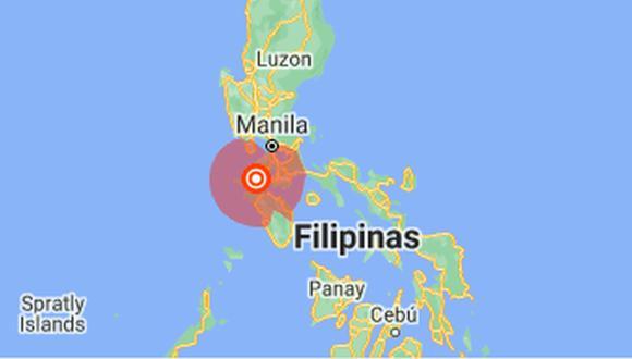 """Filipinas se encuentra en el """"Cinturón de fuego"""" del Pacífico, donde la colisión de placas tectónicas provoca sismos frecuentes y una importante actividad volcánica. (Foto: Google Maps)."""