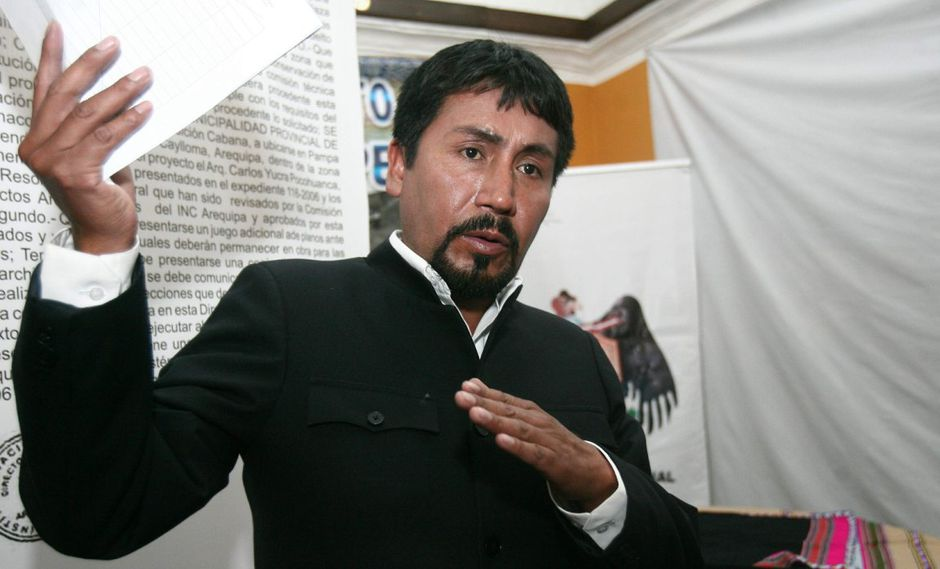 Colectivo de Arequipa denunciará penalmente al gobernador Elmer Cáceres Llica. (Foto: GEC)