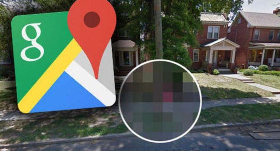 Google Maps capturó una curiosa escena en una calle de USA que llamó la atención de miles de usuarios de la app   Foto: Google Maps