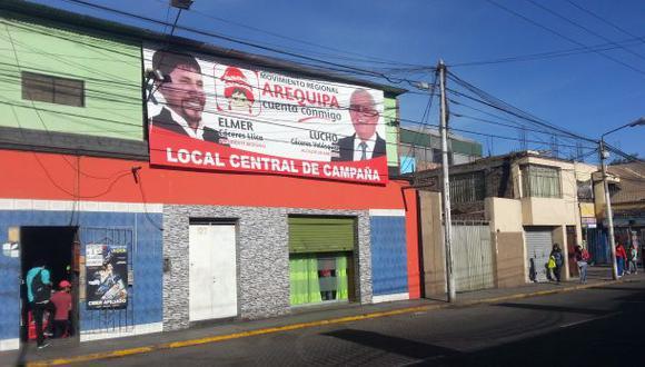 Balacera en el centro de Arequipa: un muerto y tres heridos