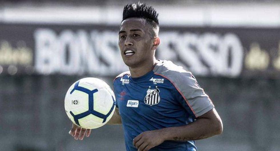 Christan Cueva está ligado al Santos hasta enero del 2022. (Foto: Santos FC)