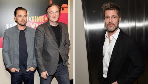 """Las primeras imágenes de Brad Pitt, Leonardo DiCaprio y otros artistas en la cinta de Quentin Tarantino """"Once Upon a Time in Hollywood"""" (Foto: AFP)"""