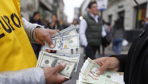 El dólar cerró al alza. (Foto: Jessica Vicente / GEC)