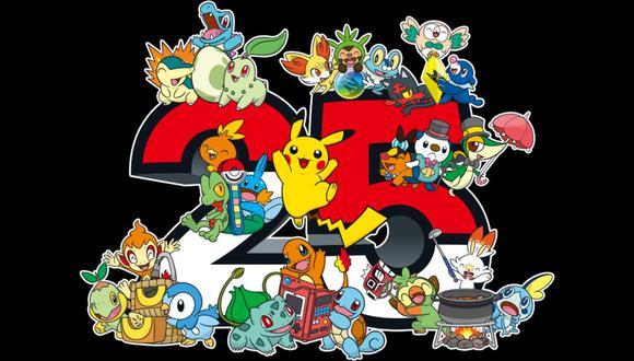 Pokémon cumple 25 años este 2021. (Difusión)