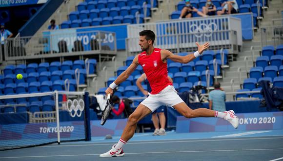 El número 1 del tenis mundial superó al boliviano Hugo Dellien. (Foto: Twitter Djokovic)