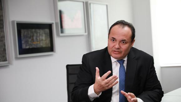 Además de las propuestas de Pensión 65, canon para el pueblo, Luis Carranza sostuvo que Fuerza Popular se enfocará en la generación de trabajo. (FOTO: GEC)