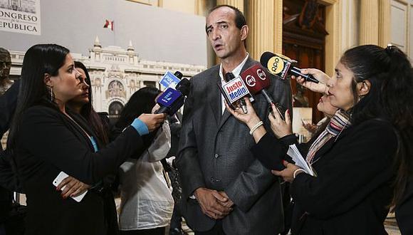 El congresista Juan Carlos Eguren anunció que el PPC tiene como prioridad participar en las elecciones municipales del 2018. (Foto: Congreso de la República)