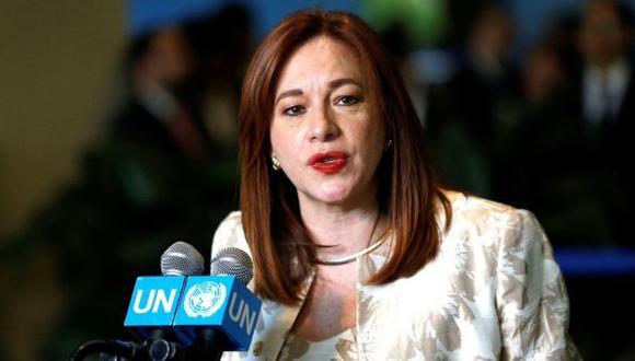 María Fernanda Espinosa presidirá la Asamblea General de la ONU hasta septiembre de 2019. (Foto: Getty Images)