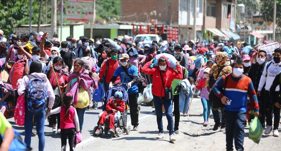 Coronavirus en Perú: el éxodo en medio de la emergencia Perú | El ...