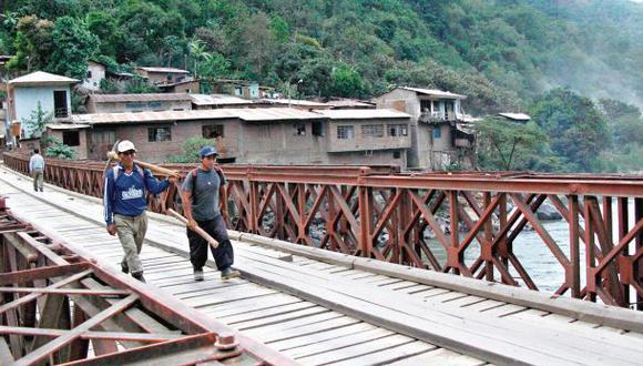 Cusco: 51 obras paralizadas en Echarati pese a su alto canon