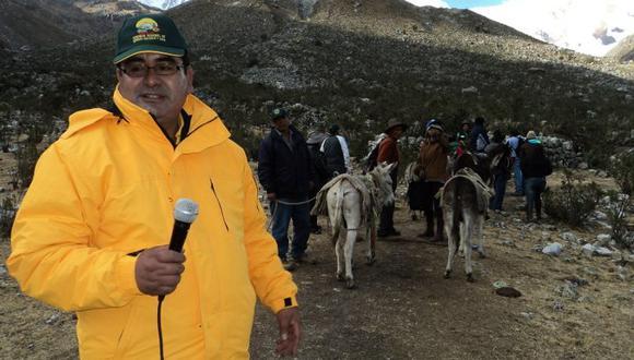 Fiscalía ratifica pedido de 35 años de prisión para César Álvarez y contra los presuntos miembros de organización criminal.  (Facebook Gobierno Regional de Áncash)