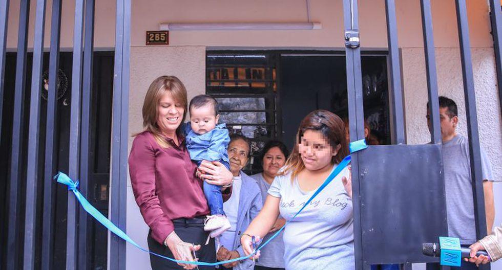 Las Malvinas: pareja de Jovi Herrera inaugura negocio propio