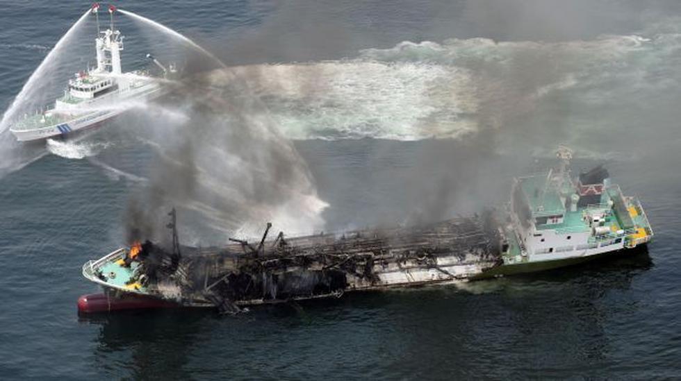 Japón: explosión de buque deja un desaparecido y cuatro heridos - 2