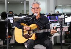 "Marcelo Moura de Virus en sesión acústica desde ""El Comercio"""