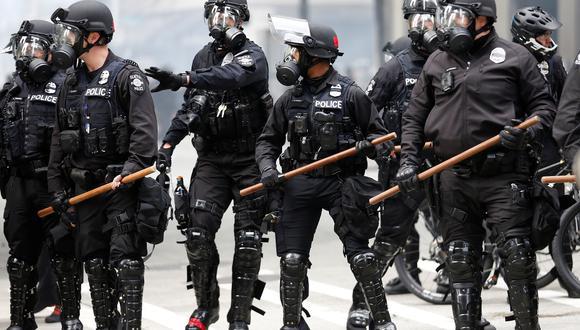 La conducta de la policía está seriamente cuestionada tras la muerte de George Floyd y las protestas que se han extendido en diversas ciudades de Estados Unidos contra el racismo y la brutalidad policial. (Reuters)