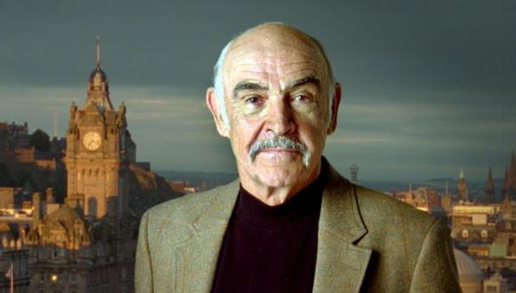 Sean Connery falleció a los 90 años.  (AP Photo/VisitScotland/HO)