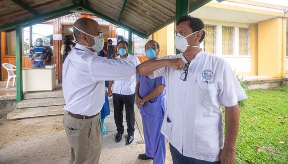 Víctor Zamora, ministro de Salud, exhortó nuevamente a la población loretana a acatar el aislamiento social decretado por el Ejecutivo para contener el avance del COVID-19 en la región. (Foto: Ministerio de Salud)