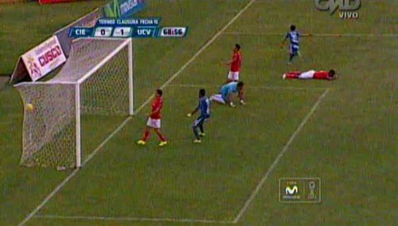 César Vallejo venció 1-0 a Cienciano por el Torneo Clausura