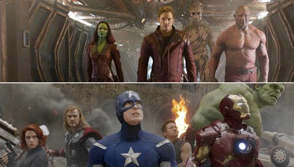 """¿""""Los vengadores"""" y los """"Guardianes de la galaxia"""" se reunirán?"""
