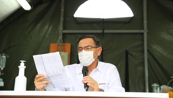 """""""El presidente no puede entrar a competir en populismo con el nuevo Congreso"""". (Foto: Presidencia)"""