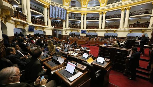 El pleno del Congreso incluyó en su agenda de hoy el debate de la reforma constitucional para sancionar los aportes ilegales a partidos políticos. (Foto: Congreso de la República)