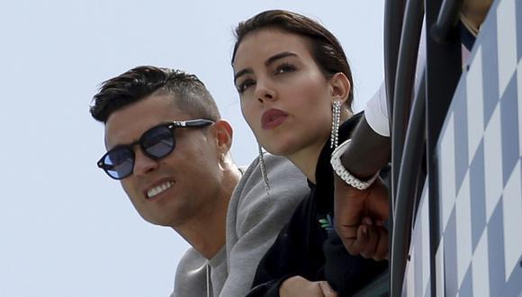 Georgina Rodríguez aclaró el futuro de Cristiano Ronaldo. (Foto: AP)