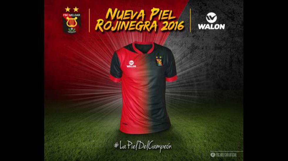 Melgar: campeón peruano presentó nueva camiseta para 2016 - 2