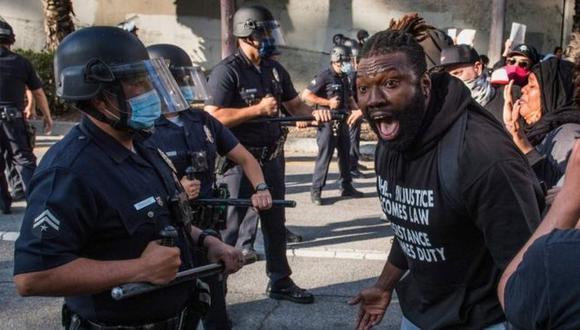 El caso de George Floyd ha levantado una ola de protestas a lo largo de Estados Unidos. (AFP)