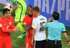 Vidal y Kimmich, compañeros en el Bayern, protagonizaron conato de bronca en final
