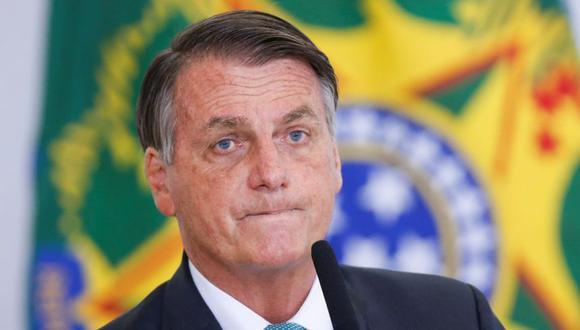 El presidente de Brasil, Jair Bolsonaro, observa durante una ceremonia en el Palacio Planalto, en Brasilia, Brasil. (Foto: REUTERS / Adriano Machado).