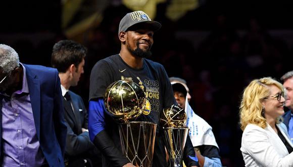Kevin Durant jugará por los Nets cuando se recupere totalmente de la rotura en los Aquiles   Foto: Agencias