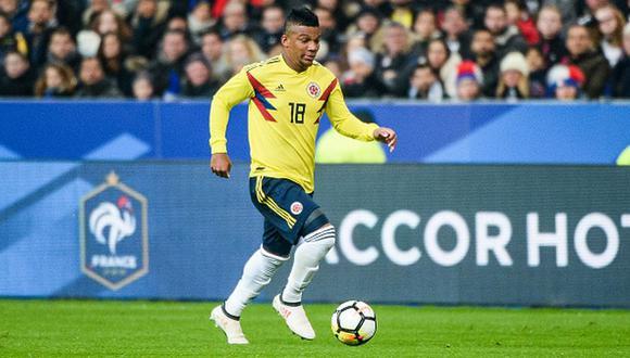 Frank Fabra fue convocado de última hora en Colombia. (Foto: Getty Images)