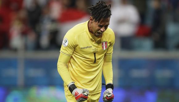 Pedro Gallese no tendrá problemas para jugar en la primera fecha de las Eliminatorias con la Selección Peruana   Foto: AP