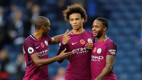 Manchester City derrotó 3-2 al West Bromwich Albion. (Foto: Agencias)