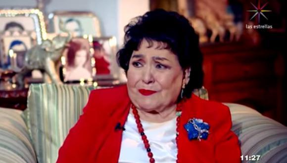Carmen Salinas narró lo difícil que fue concebir un hijo y cómo perdió a varios de ellos (Foto: Captura Las Estrellas)