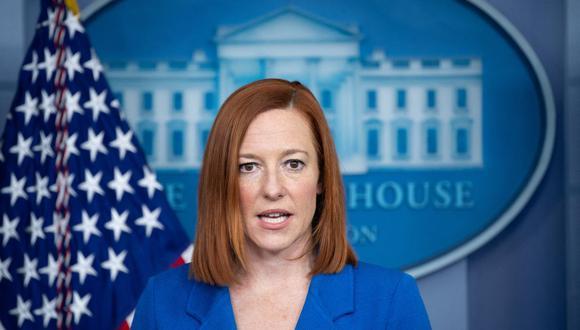 La portavoz de la Casa Blanca, Jen Psaki,. (Foto: SAUL LOEB / AFP).