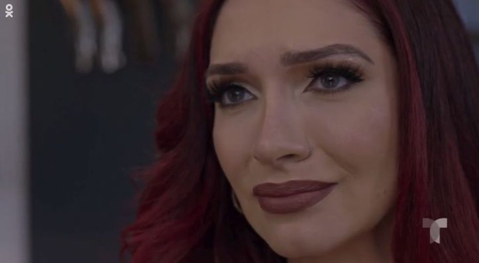 Jessica se entera que tiene VIH y al borde de las lagrimas no sabe que hacr (Foto: Telemundo)