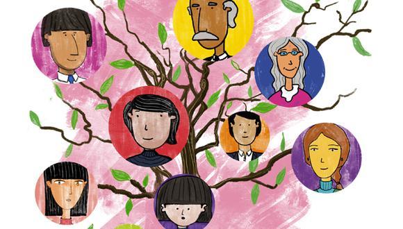 """""""Biológicamente las familias responden a un accidente genético, pero culturalmente las hemos reinventado como un antídoto contra el caos y las amenazas del mundo de afuera"""". (Ilustración: Giovanni Tazza)."""